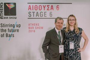 Ανδρέας Ματθίδης & Joanne Brown στην παρουσίαση του Bruichladdich
